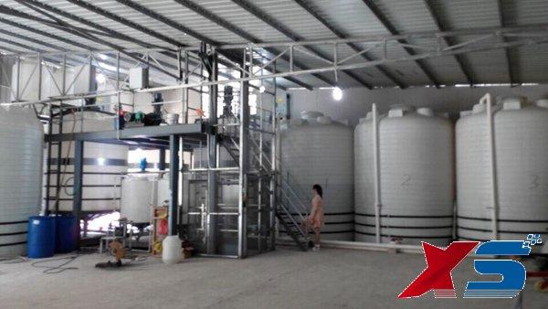 化学助剂搅拌桶生产设备